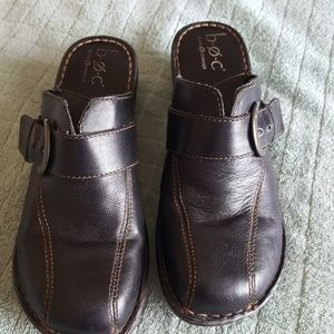 Born BOC Clogs, Slip Ons, Mules, Size 10